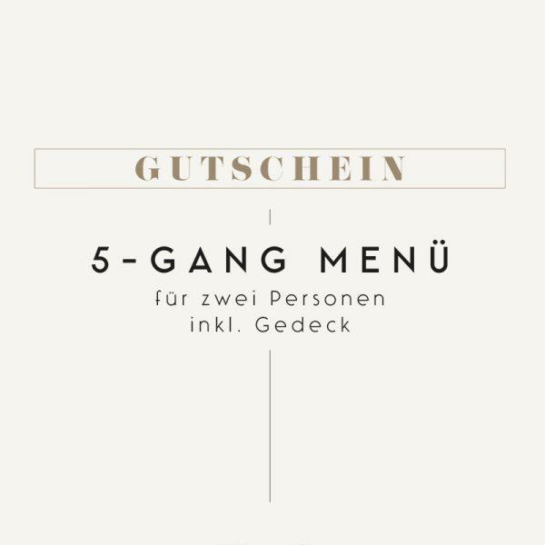 Gutschein Meierei 5-Gang Menü