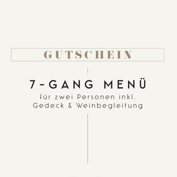 Gutschein Steirereck 7-Gang Menü mit Weinbegleitung